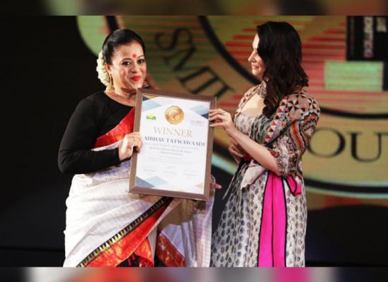 Sanjukta Dutta wins 2018 Dada Saheb Phalke Excellence Award