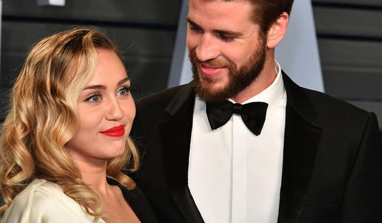 Miley Cyrus finally got hitched