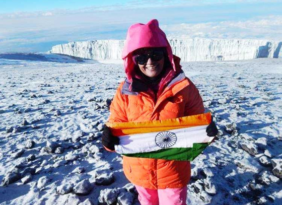 First woman IPS officer in South Pole