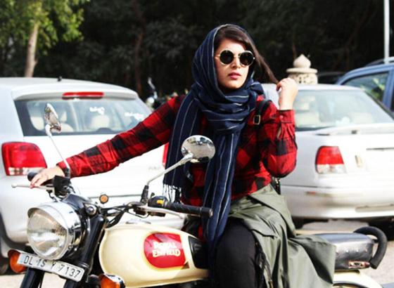 'Hijabi Biker': Ruling the Streets