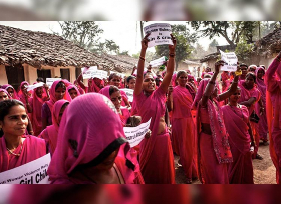 The iconic Gulabi Gang gets their first theatre appearance
