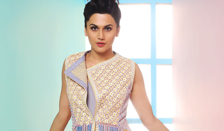 Candid with Taapsee Pannu