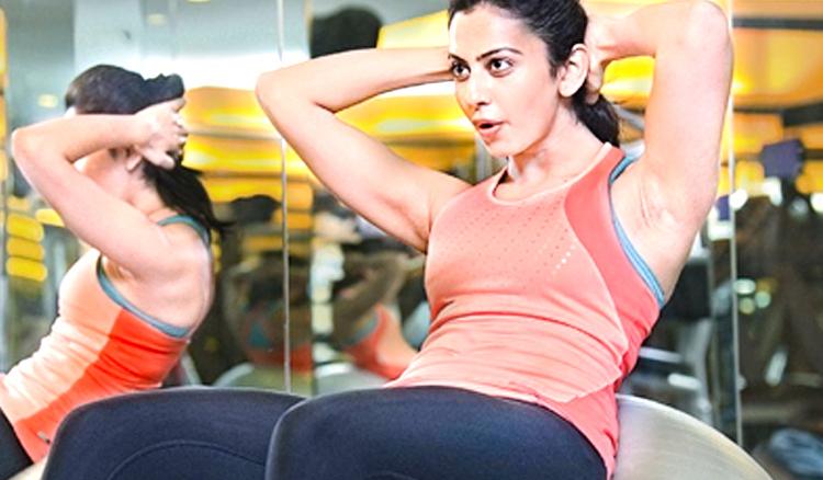 Actress Rakul Preet new fitness mantra