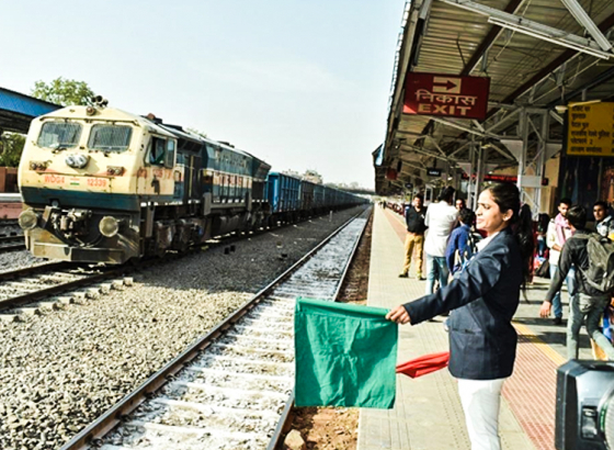Gandhi Nagar Railway Station in Rajasthan becomes a beacon of Women Empowerment with an all Women staff