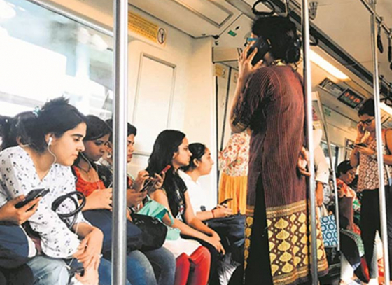 Delhi Metro and DTC buses for women to be waived for women according to upcoming policy by AAP