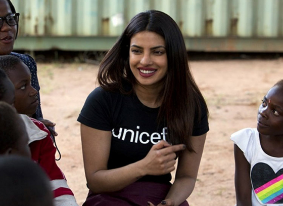 Priyanka Chopra Being Honoured By UNICEF