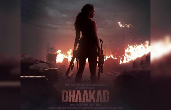 Kangana's 'Dhaakad' Look