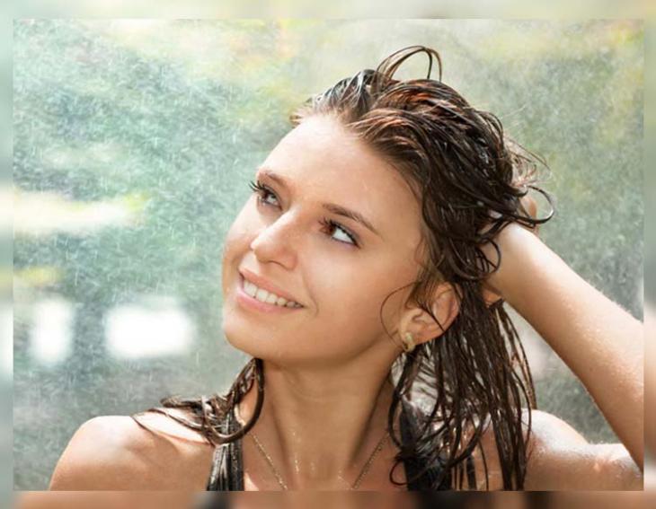 Let your Hair Enjoy the Rain
