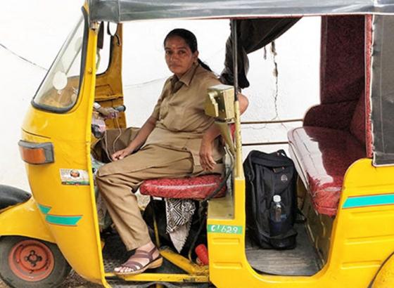 Chennai's Female Auto Driver