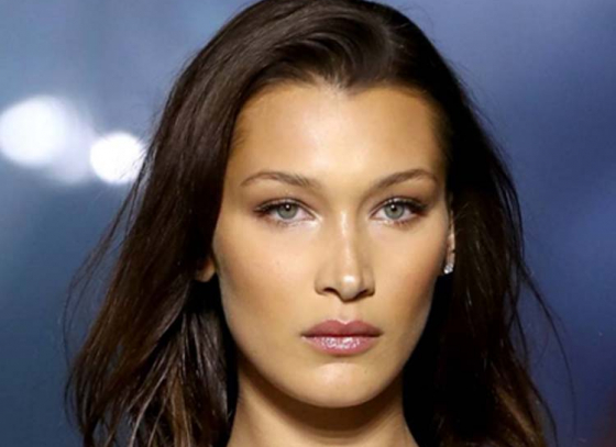 American Supermodel Bella Hadid declared the world's most beautiful woman