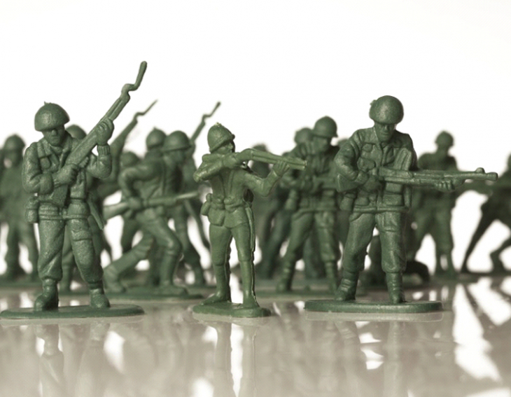 Gender inequality among toy soldiers touches the heart of 6 year old