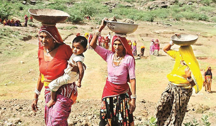 Misery of women in rural India