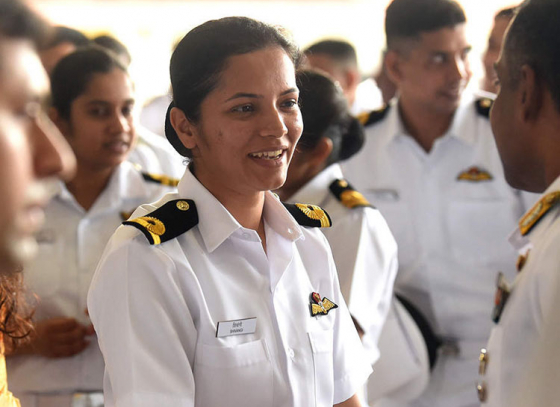 Sub-Lieutenant Shivangi becomes first Indian Navy pilot