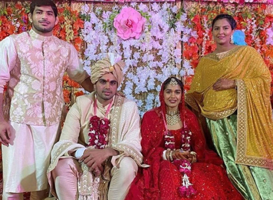 Babita Phogat's extraordinary wedding!